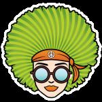 Hippie-chicks-swag-bus-sticker